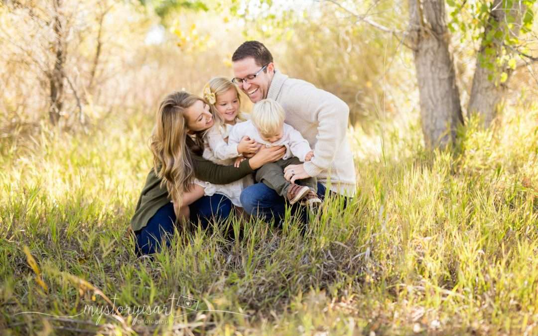 H Family | Utah County Family Photography