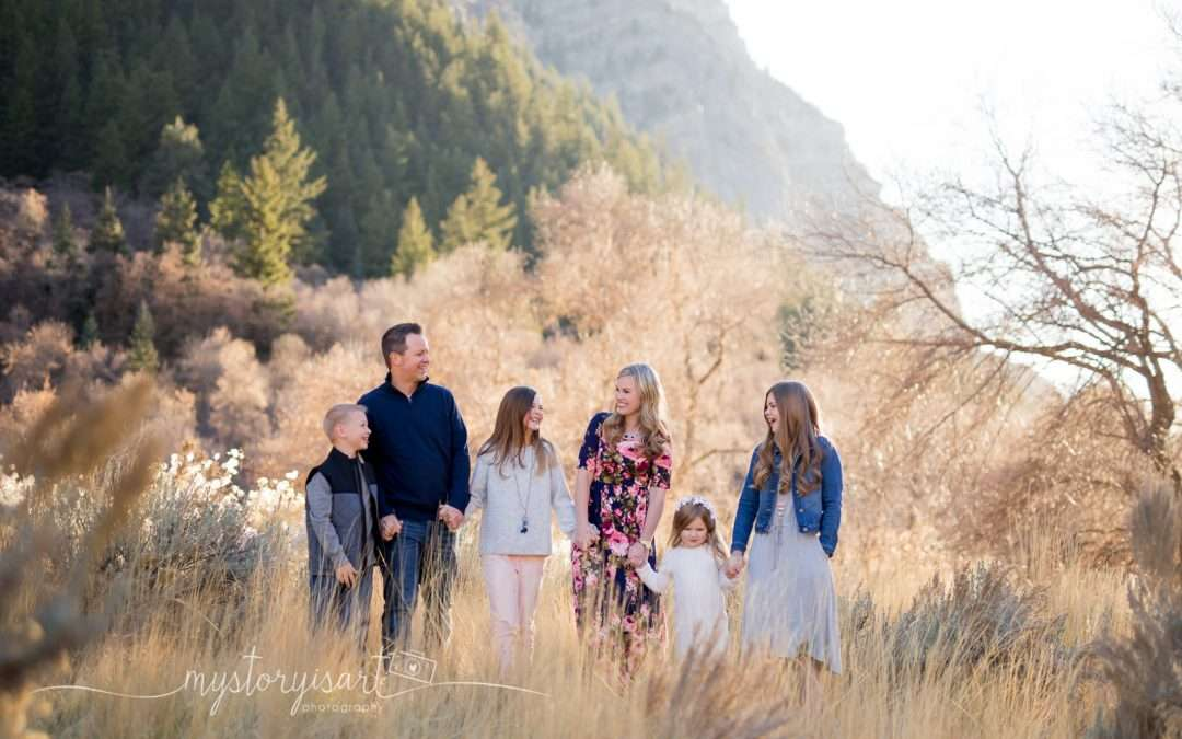 Welcoming Winter | Utah County Family Photographer