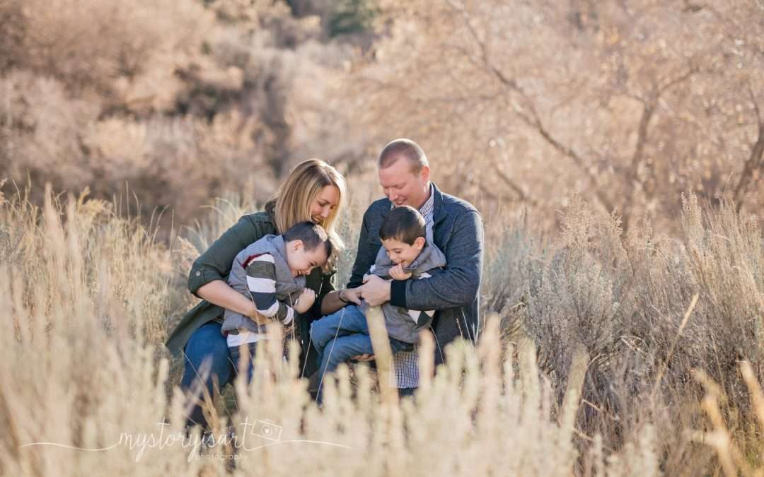 The H Family | Utah County Family Photographer