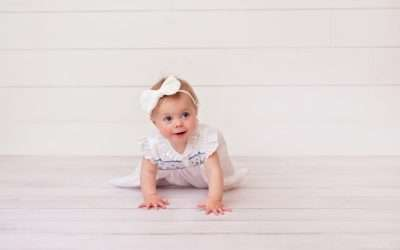 Laney | Utah County Baby Milestone Photographer