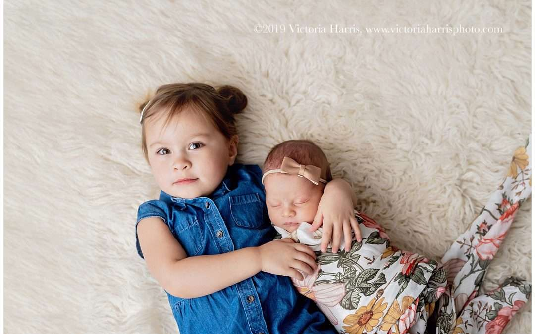 Sisters | Utah County Newborn Baby Photographer